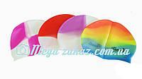 Шапочка для плавания Super Mix силиконовая: микс цветов