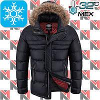 Зимние куртки с мехом - 2-1702 черный