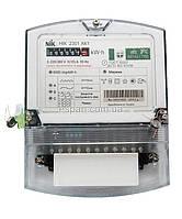 Электросчетчик трехфазный однотарифный NIK 2301 АП3 (5-120А,3х220/380В)
