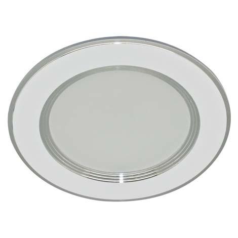 Светодиодная панель Lemanso LM 453 7W 4000K кругл. белый  Код.58727