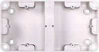 Коробка установочна E.next e.tarel подвійна, зовнішній монтаж 220В (236)