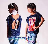 Детская футболка для девочки Капелька 1