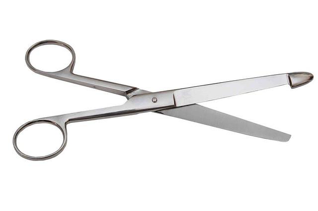 Ножницы анатомические кишечные, прямые