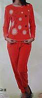Велюровая женская пижама  87039