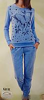 Велюровая женская пижама  87041