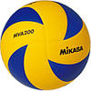 Мяч волейбольный Mikasa MVA200 оригинал, жёлто-синий