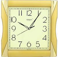 Годинники настінні RIKON quartz 6451 ms golden, кварцові, розміри 25х25 см