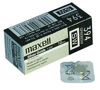 Часовая батарейка Maxell 394/ SR936SW
