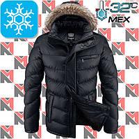 Куртки с мехом зимние - 2-4219 черный