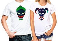 "Парные футболки ""Joker and Harley"""