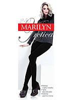 Теплые плотные колготки из шерсти, хлопка и эластана Marilyn Arctica 250 den