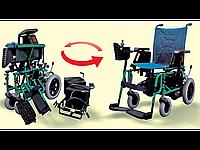 Кресло-коляска с электроприводом модель Артем 215