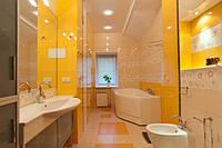 Ванная в желтых тонах.Дизайн  Интерьеров в Харькове Строительство Коттеджей, фото 1