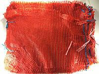 Сетка овощная (21x31) 3 кг красная с ручкой