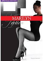 Хлопковые теплые колготки для женщин, матовые MARILYN ARCTIKA 80
