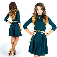Бутылочное платье 15578