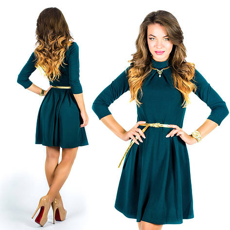 Бутылочное платье 15578, фото 2