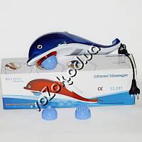 Вибромассажер Дельфин Dolphin Hammer Infrared Massager JT-889 большой 3 насадки, фото 1