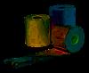Касова стрічка термо 37мм 19 м (ящик 300 рул)