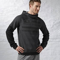 Толстовка Reebok ONE Series Quik Cotton Spacer Pullover Hoodie AX9502