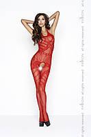 Сексуальный чулок на тело Passion BS037 красный