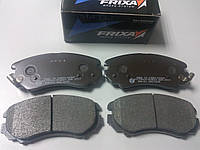 Колодки тормозные передние на Hyundai Tucson/Kia Sportage 04-