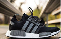 Мужские кроссовки Adidas Consortium NMD Primeknit black