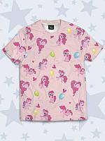 Модная 3D-футболка Пинки коллаж с оригинальным мультяшным рисунком.