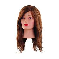 Голова для причесок 40 см светло-коричневая