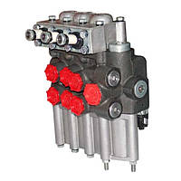 МР80-4/1-222Г Гидрораспределитель (4 пол.)МТЗ,ЮМЗ,Т-150(фиксир.)с гидрозамками(МЗТГ)
