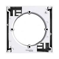 Коробка для наружного монтажа 1-постовая Schneider Electric Asfora, белая