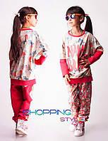 Детский костюм для девочки Name Brand коралл