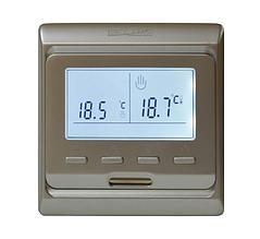 Терморегулятор HEAT PLUS TOP FLOOR M6.716 (программируемый) золото