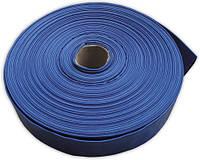 """Шланг AGRO-FLAT 2 bar, 2"""", 100 м, BLUE, фото 1"""