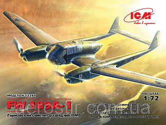 Самолет Fw-189А-1 1/72 ICM 72291