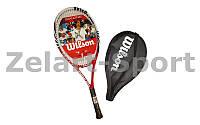 Ракетка для большого тенниса WILS WRT327400-2 SIX ONE COMP grip 2
