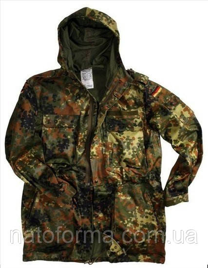 Парка, куртка Flecktarn, Бундесвер, оригинал