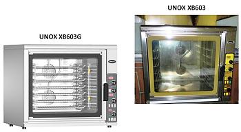 Запчасти для печи Unox XB603/G