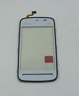 Тачскрин / сенсор (сенсорное стекло) для Nokia 5228 5230 5232 5233 5235 5236 5238 (белый цвет)