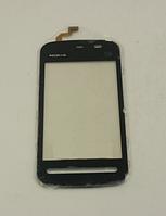 Тачскрин / сенсор (сенсорное стекло) для Nokia 5228 5230 5232 5233 5235 5236 5238 (черный цвет)