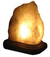 Соляной светильник «Скала» 3-4кг обычная лампочка