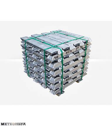 Алюминиевая чушка АК7М2,5МГМН , фото 2
