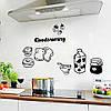 Наклейки на холодильник (002)