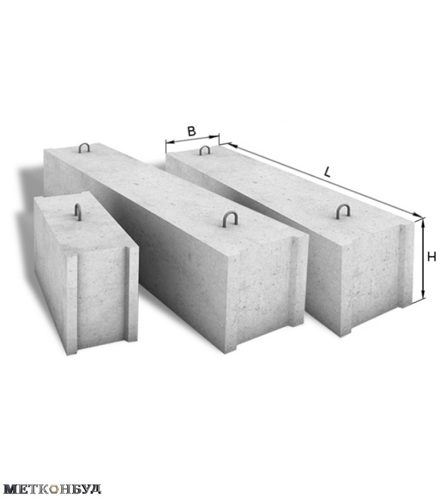 Фундаментный блок 12.6.6 т