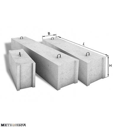 Фундаментный блок 12.5.3 т , фото 2
