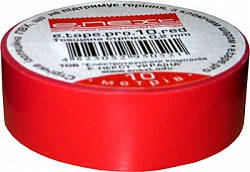 Електроізоляційна стрічка ПВХ E.next e.tape.stand.10.red червона
