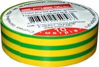 Ізолента ПВХ E.next e.tape.stand.10 yellow-green