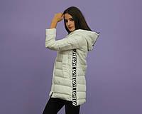 Молодежная куртка белая оптом