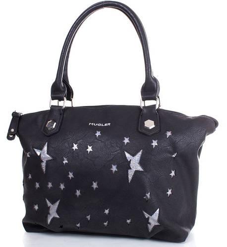 Креативная сумка для стильной леди, искусственная кожа MUGLER FRH-ETOILE11 черный