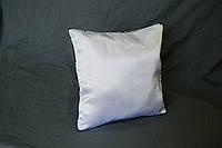 Подушка квадрат кант зеленый